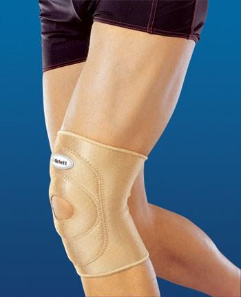 Бандаж на коленный сустав, с отверстием (RKN-103)