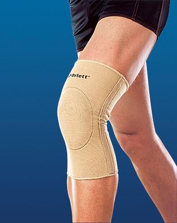 Бандаж на коленный сустав, эластичный с фиксирующей подушкой (EKN-212)