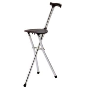 Трость-сиденье комбинированное инвалидное, трехопорное BSC 300