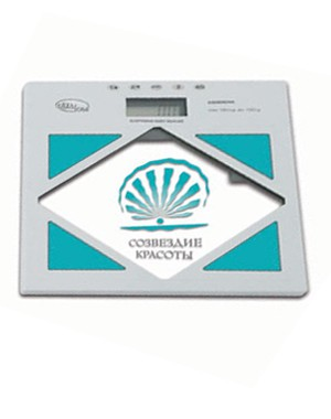 Электронные весы напольные с анализатором жира и воды ESG2804А
